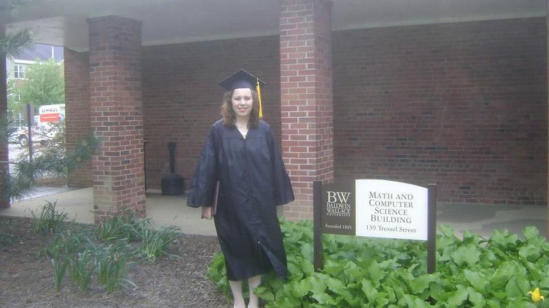 Graduation from Baldwin Wallace University - May 13, 2013