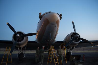 Photograph's of the Arizona Ground Crew