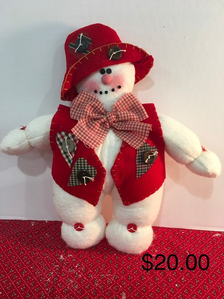 Vested Snowman