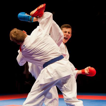 Karate Battle of the Teams 2013  Rotterdam Topsportcentrum