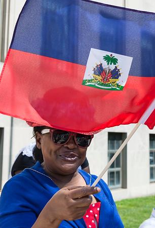 5/9/17 Haitian Flag Raising