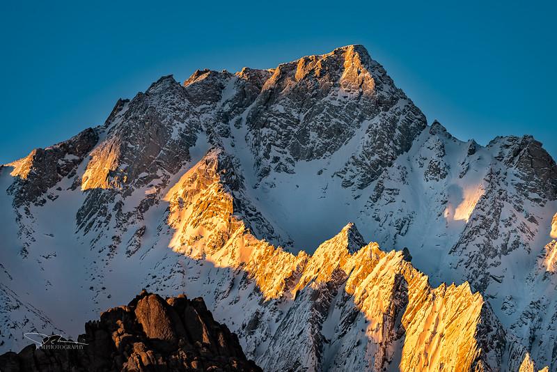 Lone Pine Peak Sunrise