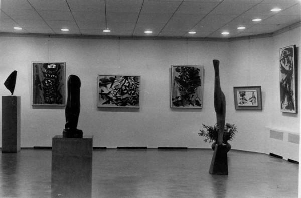 Exhibition Wuppertal-Barmen Museum Dec-Jan 1953-54