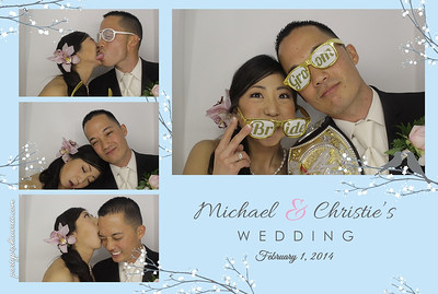 Michael & Christie Wedding (Luxury Photo Booth)