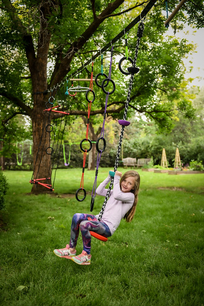 Climbing Rope with swing base