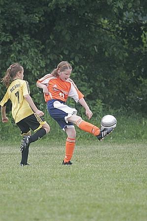 Far Post Orange U10 Girls vs Clifton Park Blasters U10 Girls