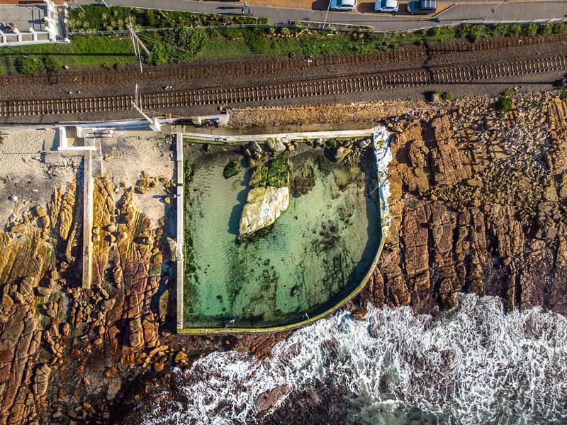 Dalebrook tidal pool, 2020