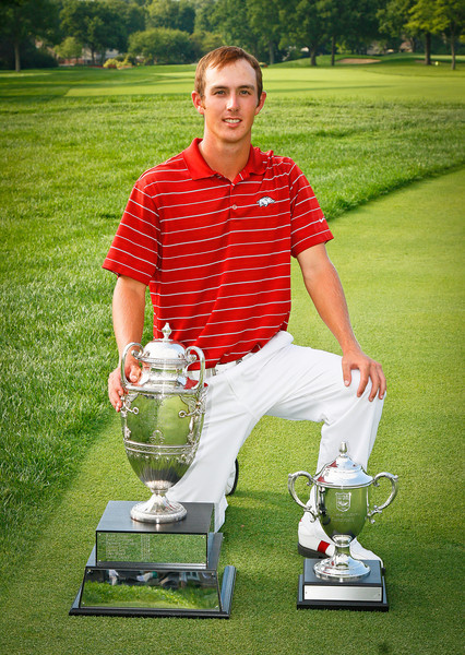 2011 Western Amateur Champion Ethan Tracy, 21, a University of Arkansas senior.