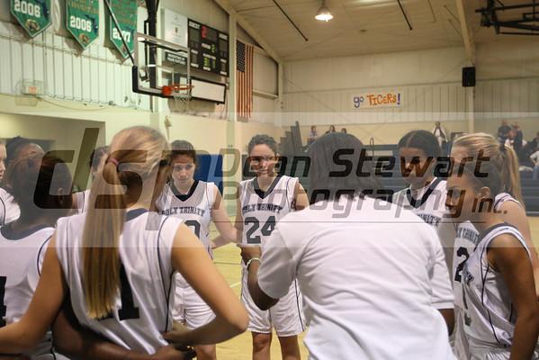 Holy Trinity JV V Girls Basketball 1-6-12