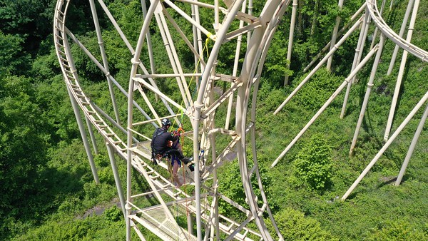 2021 Special Rigging Operations (Tower Rescue Ops. Ghost Town) Haywood County (NC)