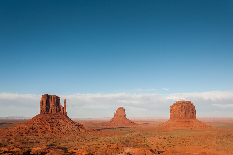 Monument Valley as seen from the Visitor Center