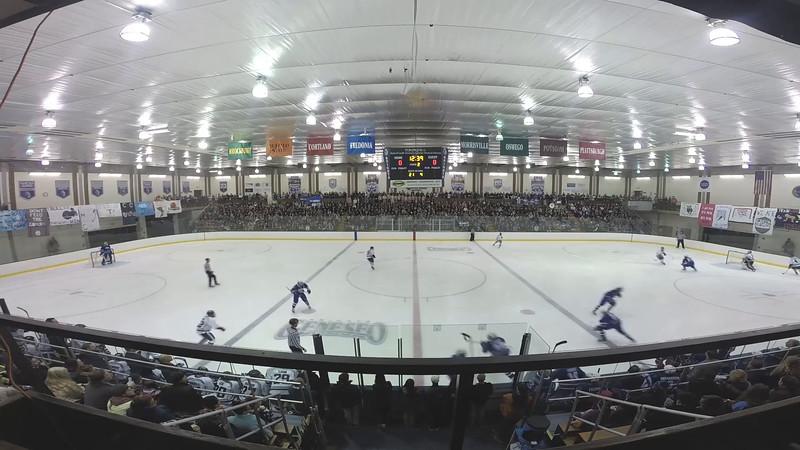 Ice Hockey vs. Fredonia (Teddy Bear Toss)