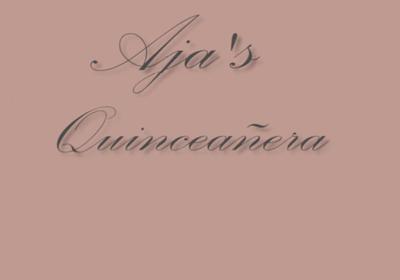 Quinceañera Video