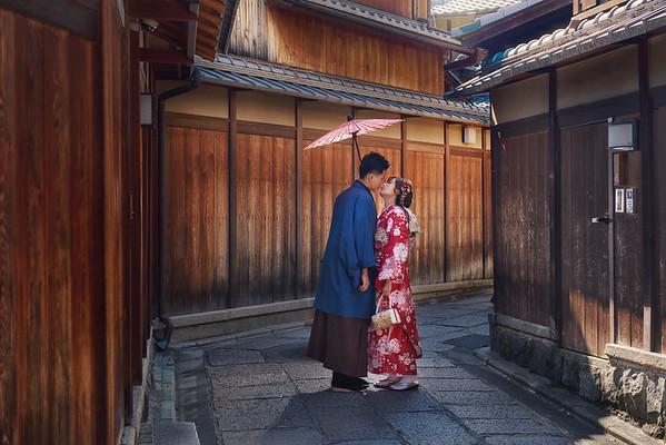 Evonne Kyoto pre-wedding