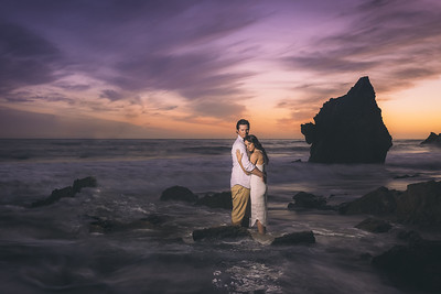 David + Andrea Malibu Engagement