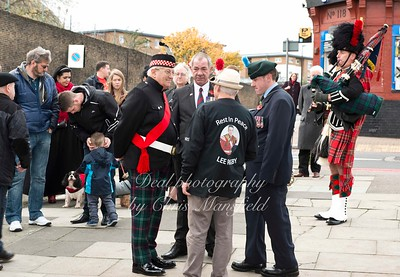 Nov' 11th 2015 Armistice day  plus tribute to Fusilier Lee Rigby