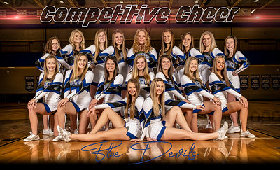 Competitive Cheer Banner