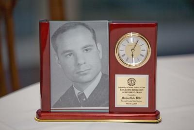 Alumni Achievement Award-Broward Judicial Reception - March 2, 2010