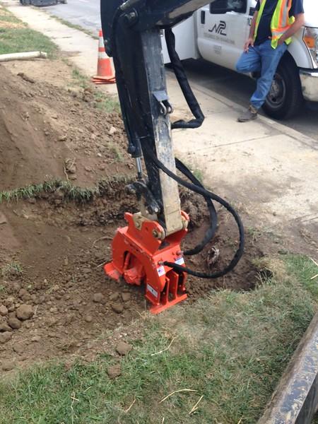 NPK C2D compactor on Deere mini excavator (3).JPG