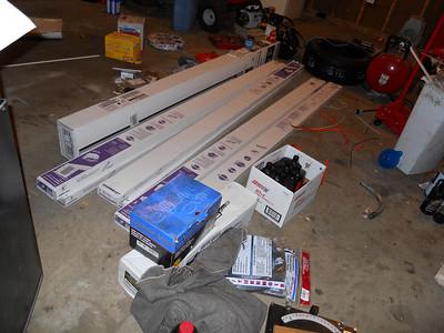 Garage 4 gang 40A wiring