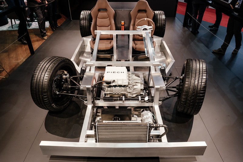 Chassis of the Mark Zero by Piëch Automotive - Samuel Zeller for the New York Times