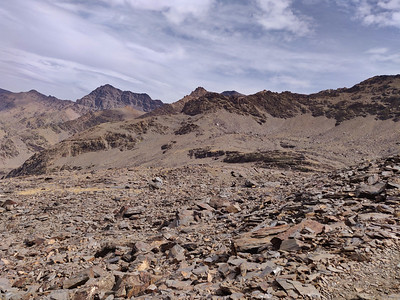 The Northern Flanks of the Sierra Nevada