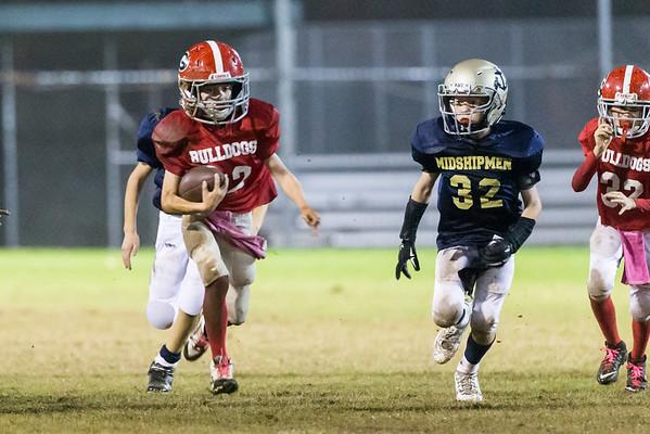 #38 Bulldogs vs Midshipmen