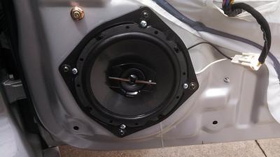 2005 Hyundai Tiburon GT V6 Front Door Speaker Installation - USA