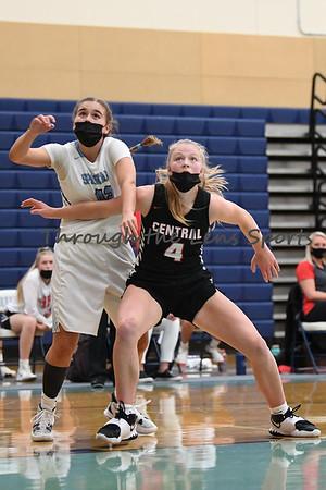 Corvallis vs. Central Girls High School Basketball