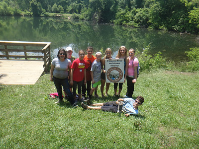 5.29.13 Cleanup at Lost  Lake with Glenwood Middle School