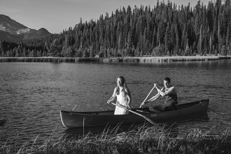 Hosmer Lake Wedding