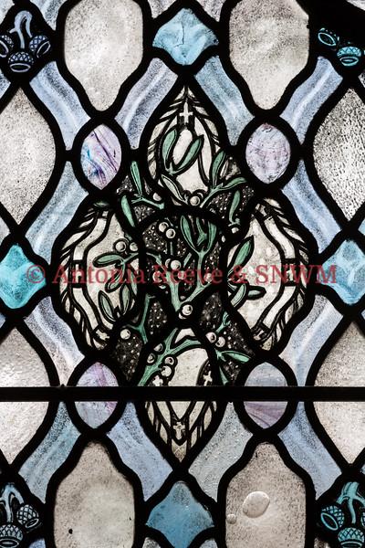 Winter Window - Mistletoe