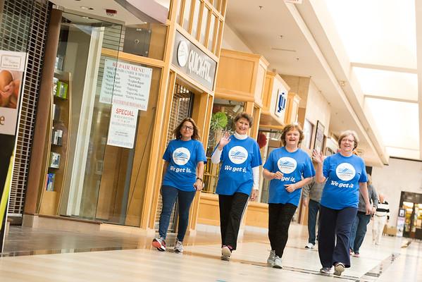 2018 Lake Health / Great Lakes Mall - Mall Walker Kick Off Event