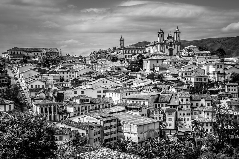 Stunning view over Ouro Preto.