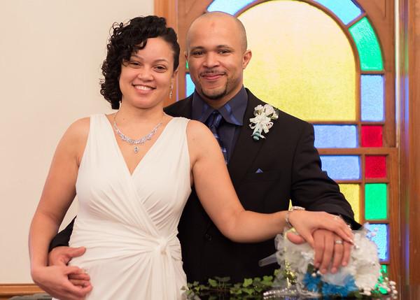 Damien & Latoya's Wedding Ceremony