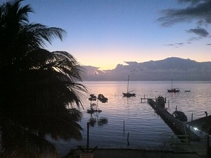 Caye Caulker at Sunrise