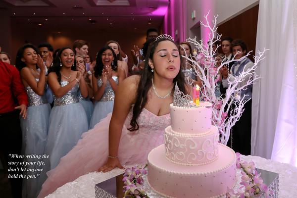 Sweet 16th;  Katarina Martinez