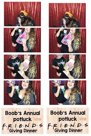 Boob's Annuale Friends Giving 2018