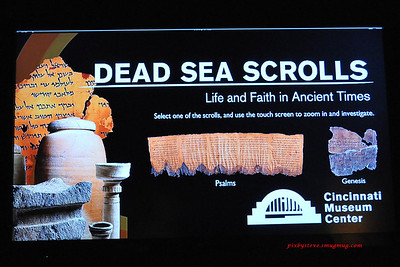 Dead Sea Scroll Exhibit