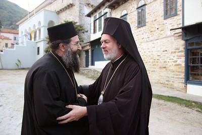 15/10/2013 Επίσκεψη Οικουμενικού Πατριάρχου στο Άγιο Όρος