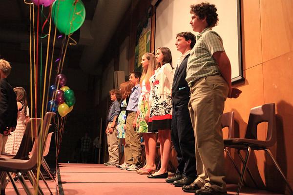 Pomfret Elementary School Graduation