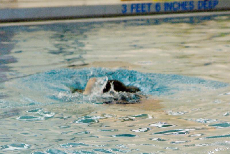 Diving underwater