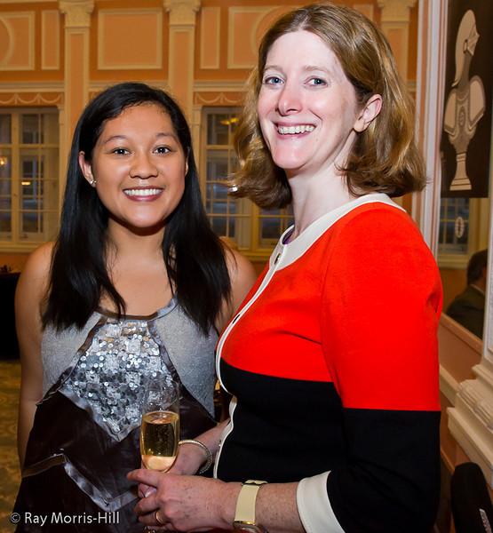 Sue Maroroa and Tara Mcgowan