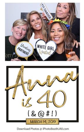 Anna's 40th Birthday