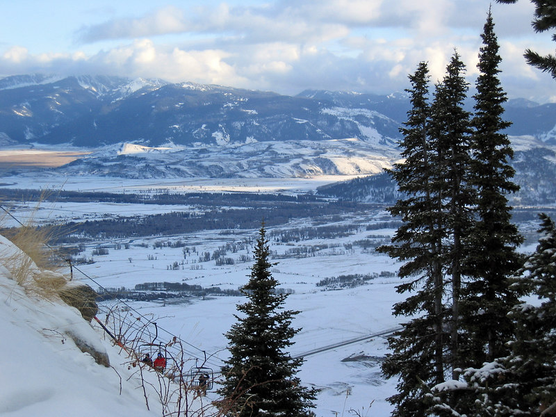 View from Jackson Hole mountain resort   (Dec 11, 2006, 03:30pm)
