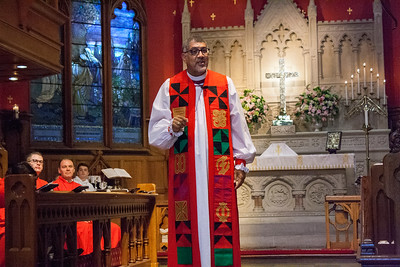 Confirmation with Bishop Wright