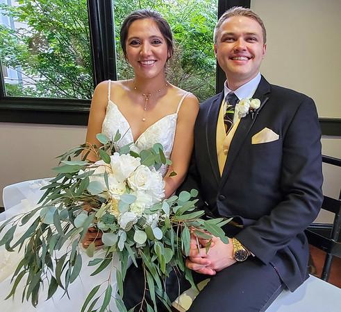 Wedding of Luke and Shina July 2021