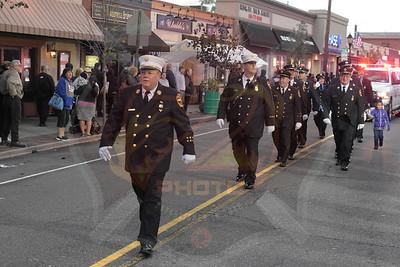 Farmingdale F.D.  Columbus Day Parade  10/9/16