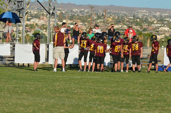 7th Grade HPA vs Kingman Academy 10-2-2013