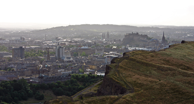 View from Holyrood Park, Edinburgh